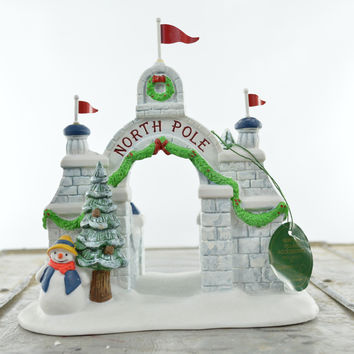 Department 56 North Pole Series North Pole Gate