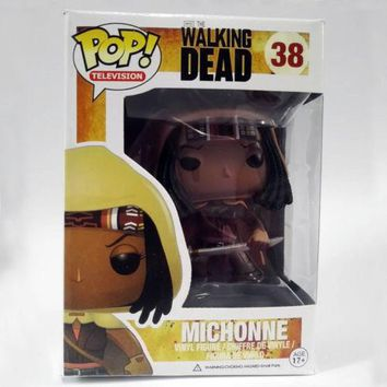 POP! Movies:The Walking Dead MICHONNE Vinyl Action Figure Collection Toys New