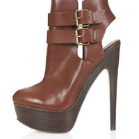 ALANNAH Cut Out High Boots
