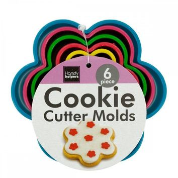 Flower Shape Cookie Cutter Molds Set HR418