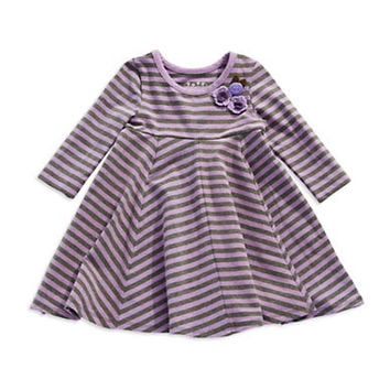 Pippa & Julie Girls 2-6x Striped Dress