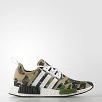 Beauty Ticks Adidas X Bape Nmd R1 Green Camo Extremely Rare