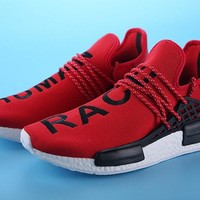 2017 Fashion Sneakers Pharrell Williams X NMD HUMAN RACE Mens and Womens Running Shoes