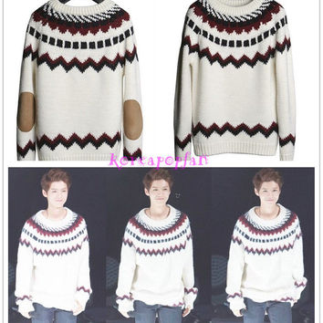 EXO LUHAN LU HAN miracles in December knitted sweater KPOP
