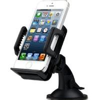 TaoTronics Universal Car Mount Mobile Phone Holder for iPhone 6/6+/5s/5c, Samsung Galaxy S5/S4/S3/Note 4/3, Google Nexus 5/4 - TT-SH02