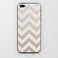 NUDE CHEVRON iPhone & iPod Skin by Monika Strigel