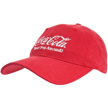 Coca-Cola - Best Pop Around Adjustable Baseball Cap