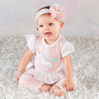 Baby Aspen Simply Enchanted 3 Piece Outfit
