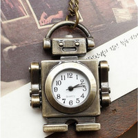 Robot Pocket Watch