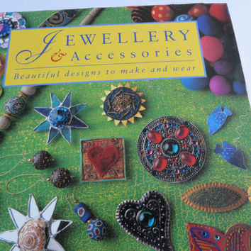 Jewellery & Accessories vintage 1994 book by Juliet Bawden