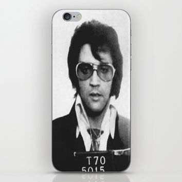 The King Mugshot iPhone & iPod Skin by Neon Monsters