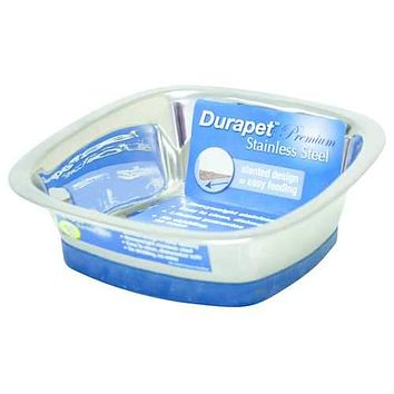 Durapet Stainless Steel Square Bowl