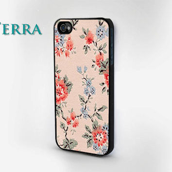 Floral iPhone Case iPhone 4 iPhone 4s  iphone 5 by TERRACASES
