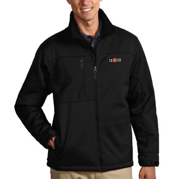 Texas Longhorns Antigua Traverse Alumni Jacket – Black