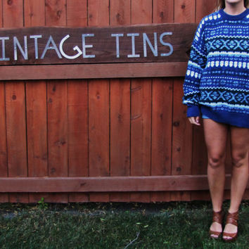 vintage oversized slouchy hipster cosby sweater.