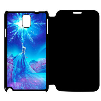 Frozens Samsung Galaxy Note 4 Flip Case Cover