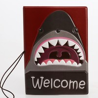 Hot Overseas travel accessories passport cover, luggage accessories passport card-sharks