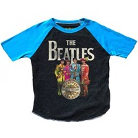 Beatles Sgt. Pepper Raglan