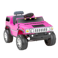 Kid Motorz H2 Hummer 6V Ride-On - Pink