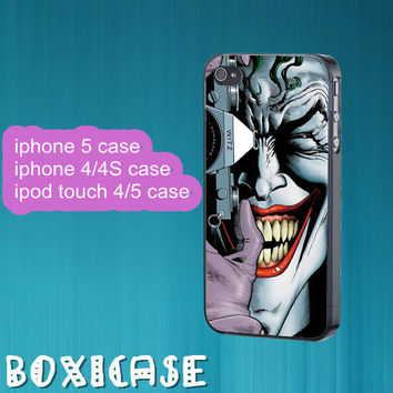 Batman,killing joke---iphone 4 case,iphone 5 case,ipod touch 4 case,ipod touch 5 case,in plastic,silicone and black,white.