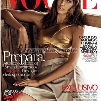 Buy Vogue Brazil Magazine Subscription | Buy at Magazine Cafe - Single Issue & Subscription Specialist in USA