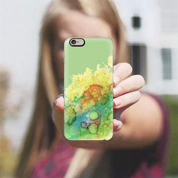 Green Sea Life iPhone 6 case by Rosie Brown | Casetify