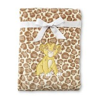 Disney Baby The Lion King Infant's Fuzzy Blanket