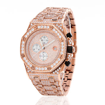Rose Gold Baron Watch