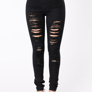 How Ever You Want It Jeans - Black