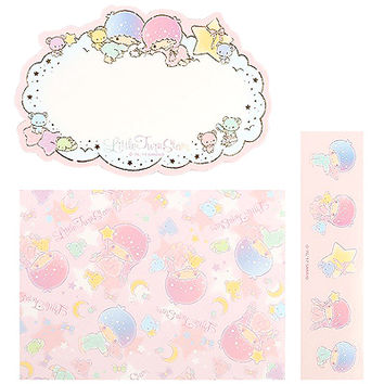 Buy Sanrio Little Twin Stars Mini Message Card & Envelope Set with Seal at ARTBOX