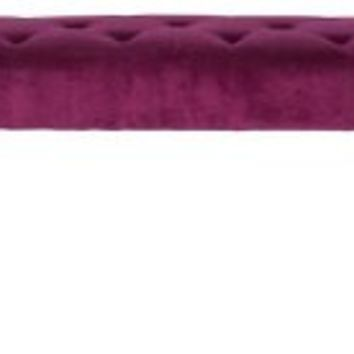 Avery Bench, Orchid, Entryway Bench, Bedroom Bench