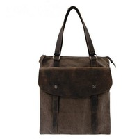 Functional leather canvas tote bags for women by Distressed backpack & messenger bag