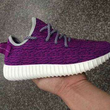 Custom Purple Yeezy Boost 350 Low