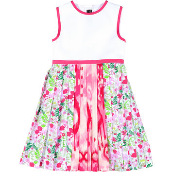 Tween Multi Pleated Party Dress
