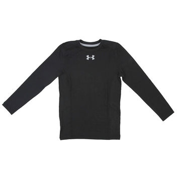 Under Armour Boys' ColdGear Infrared Everyday L/S Printed Shirt