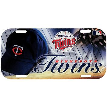 Minnesota Twins - Field High Def Acrylic License Plate