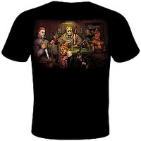 Slasher's Playing Poker Tee