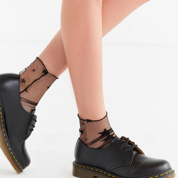 Out From Under Stars Tulle Sock | Urban Outfitters
