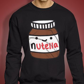 Food Shirt Nutella Men'S Sweatshirt