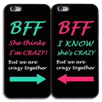 Loves Carl And Emily Matches Case for iPhone and Samsung Series,Two Differrent Phone Models Mixed OK