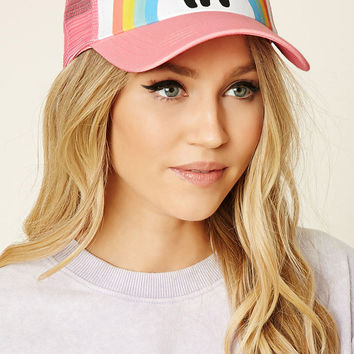 HI Rainbow Graphic Trucker Hat