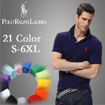 Ralph Lauren Men Classic Polo Shirts 2XL-6XL - Best Deal Online
