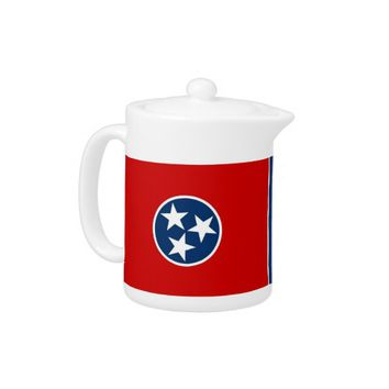 Tennessee State Flag Teapot