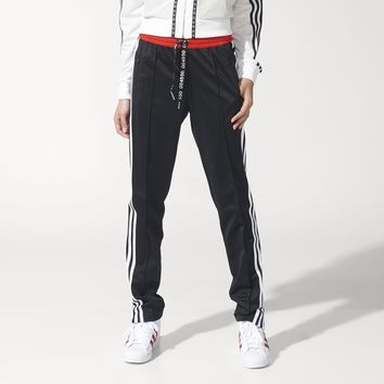 adidas Topshop Superstar Track Pants - Black | adidas US