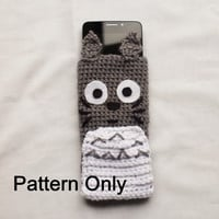 DIY Crochet Totoro Phone Case *PATTERN ONLY*  (My neighbour Totoro)