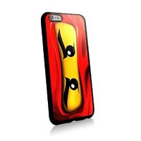 Red Ninja Face Lego for Iphone and Samsung Galaxy Case (iphone 6 plus black)
