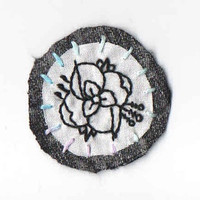 La Dispute Sew On Patch Brooch Embroidery Band Post Hardcore Punk