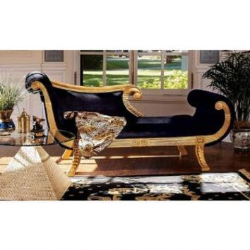 Cleopatra Neoclassical Chaise - AF1602 - Design Toscano