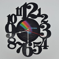 Vinyl Record Wall Clock (artist is Elton John)
