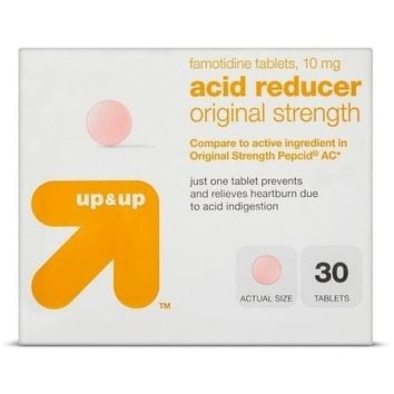 up & up™ Famotidine 10 mg Original Strength Acid Reducer Tablets - 30 Count
